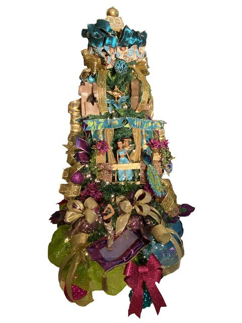 Princess Jasmine Christmas Tree