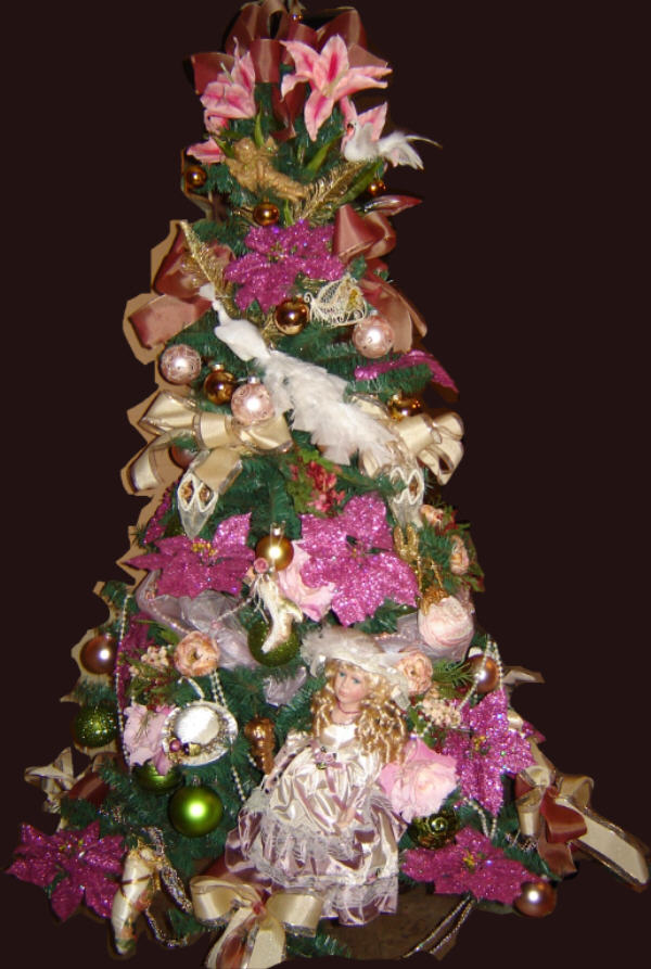 Decorated Royal Victorian Christmas Tree