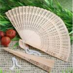 Sweet-Scented Sandalwood Fan Favors